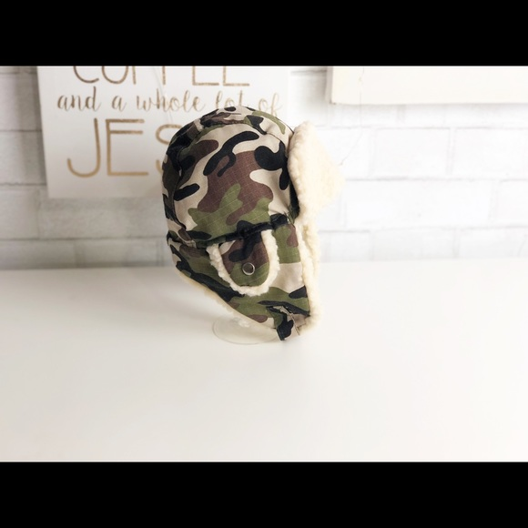 Hobby Lobby Other - Boy's Camouflage Fleece Trapper Hat.